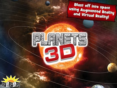 Popar Planets 3D Book - screenshot thumbnail