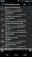 Screenshot of Dining Program Locator