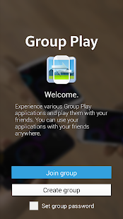 Download Android App GROUP PLAY for Samsung