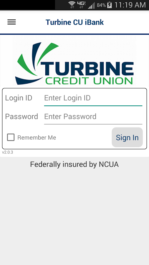 Turbine CU iBank - screenshot