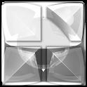 NEXT white snake theme icon