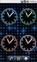 Screenshot of Glowing Neon Clocks - FREE