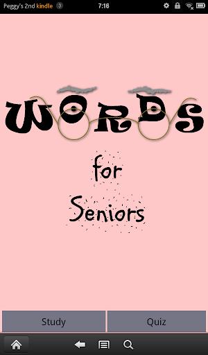 Words for Seniors