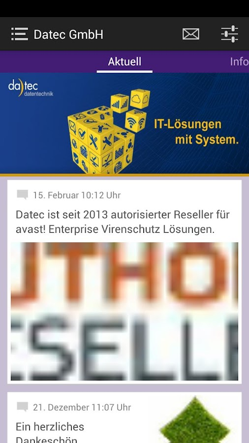 Datec-Datentechnik GmbH - screenshot