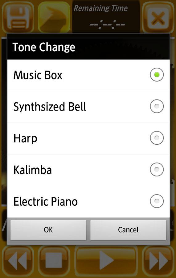 Pure Orgel Sound - music box -- screenshot