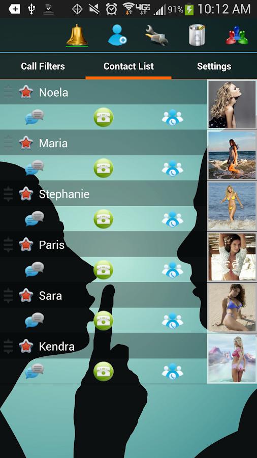 Shady SMS 4.0 - screenshot