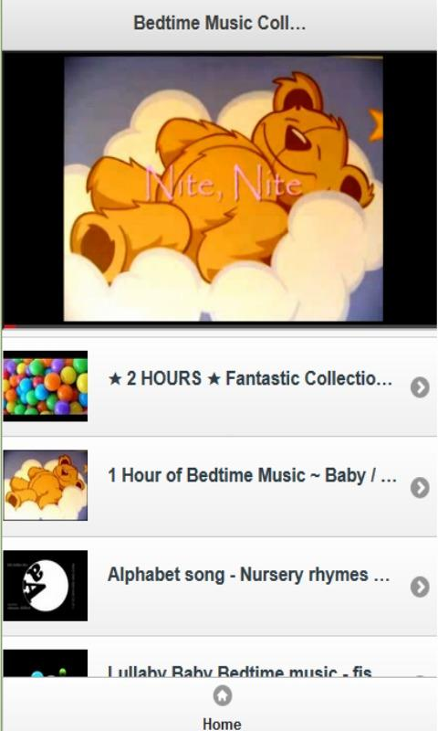 Bedtime Music Collection - screenshot