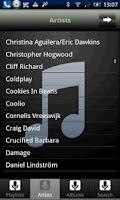 Screenshot of iRemote iTunes & WMP Pro