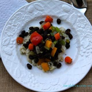 Vegetarian Cuban-Style Black Beans & Rice.