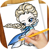 Learn to Draw Elsa Frozen