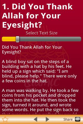 Islamic Stories For Muslims- screenshot