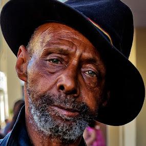 Streetwise by David Hammond - People Portraits of Men ( old, wise, street, men, people, portrait,  )