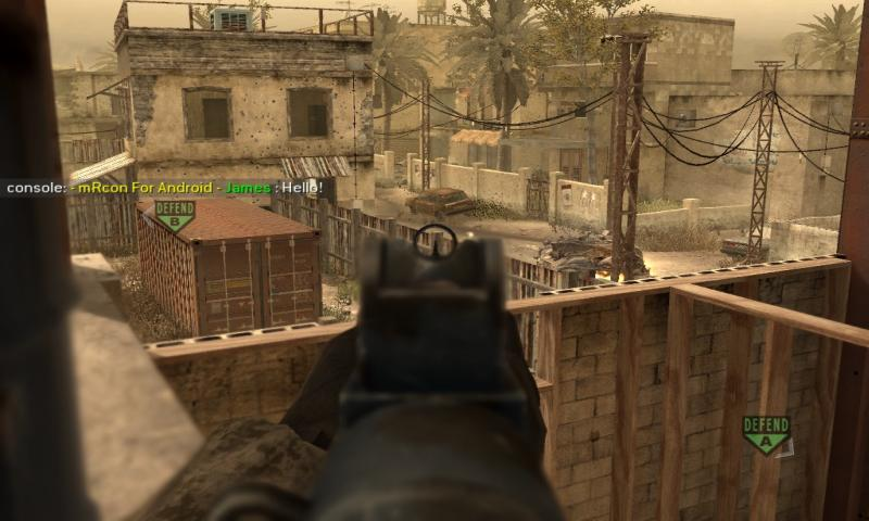mRcon : COD4 Rcon - screenshot