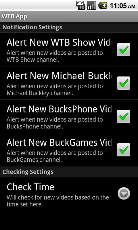 BuckHollywood App - screenshot