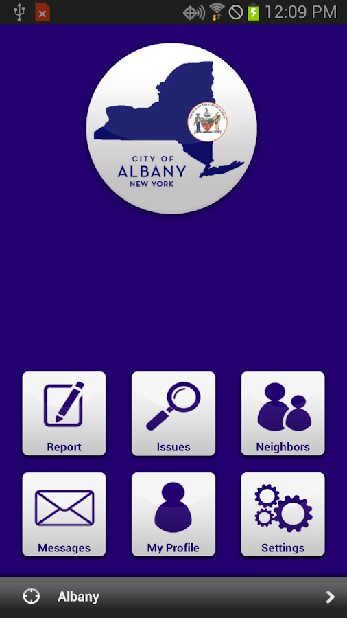 AlbanyWorks4U - screenshot