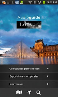 Louvre Audioguía - screenshot thumbnail