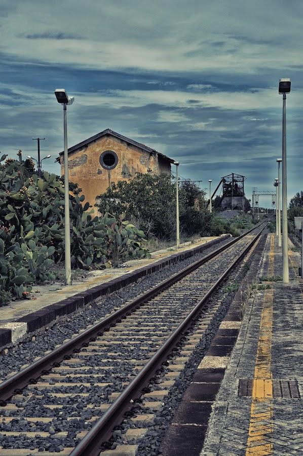 Vecchia Stazione di Palagonia by Massimo Grassi - Transportation Trains