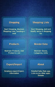 Easy Android Shopping List Pro screenshot 0