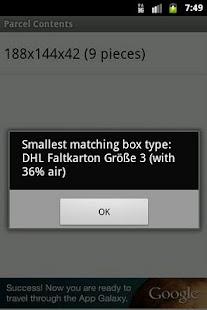 ParcelCalc- screenshot thumbnail