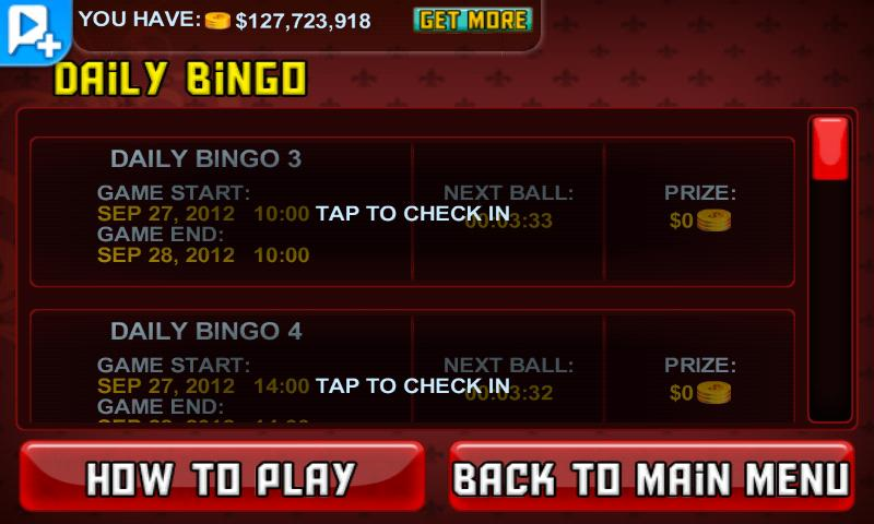 Bingo LIVE! - screenshot