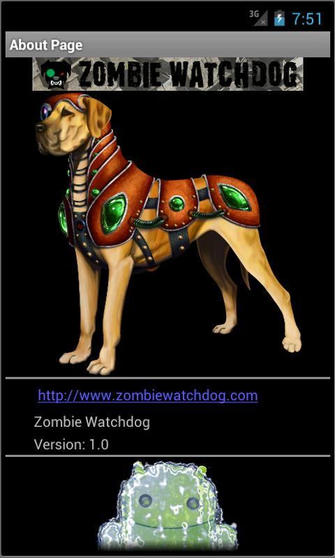 Zombie Watchdog- screenshot
