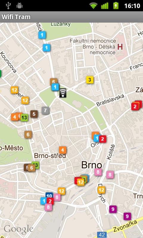 Wifi Tram- screenshot
