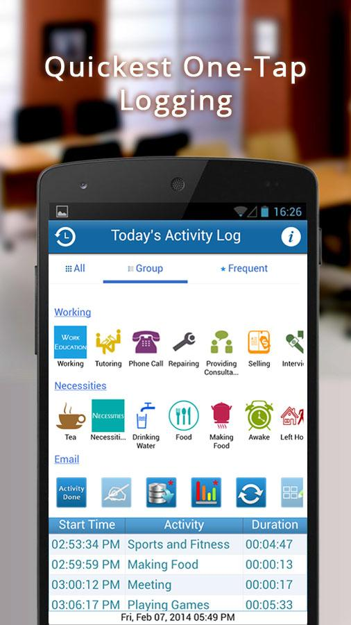 Activity Log Pro- Task Analyst- screenshot