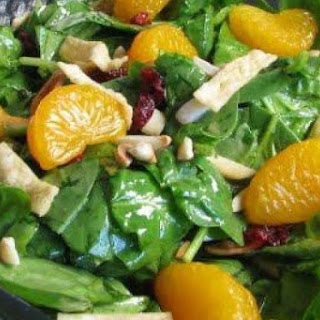 Spinach Salad with Oranges and Almonds