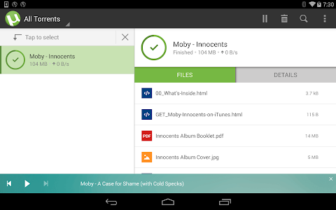 µTorrent®- Torrent Downloader v2.0.5