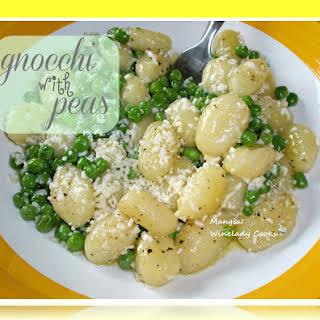 Gnocchi With Peas.