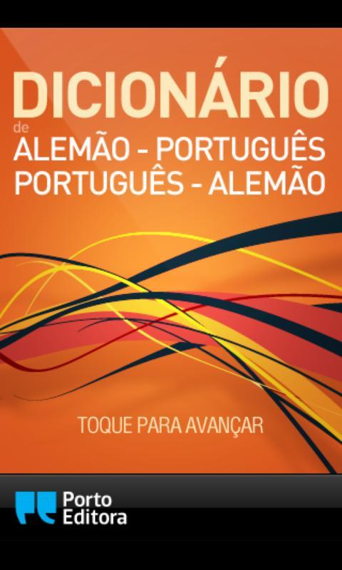 Dicionário Alemão-Português- screenshot