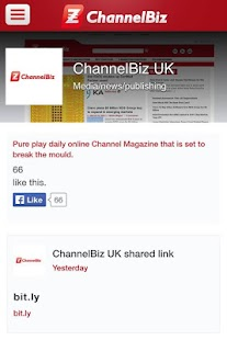 ChannelBiz.co.uk- screenshot thumbnail