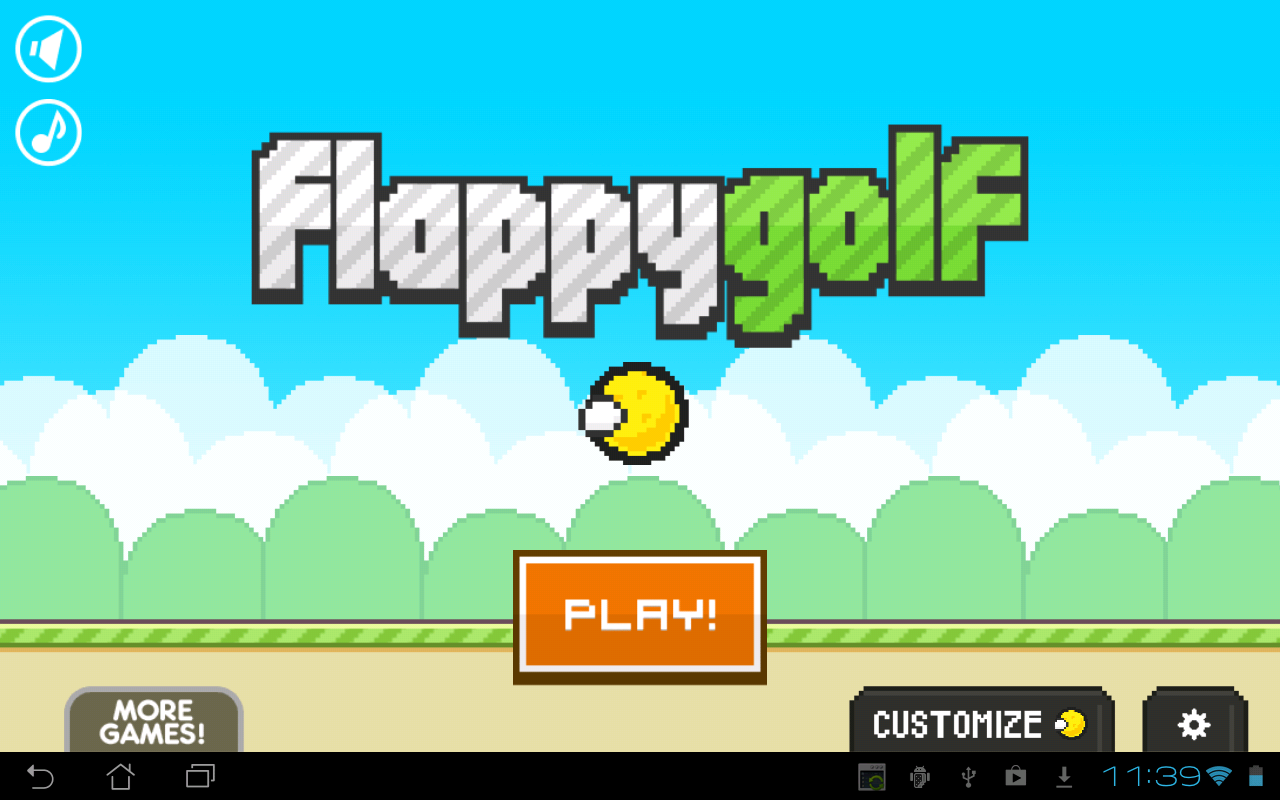 Flappy Golf- screenshot