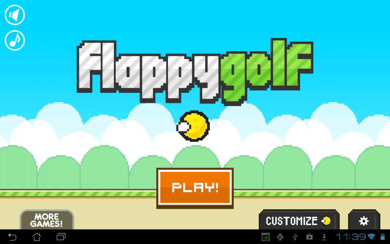 Flappy Golf screenshot #6