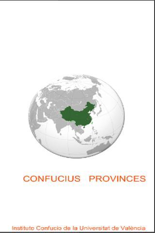 CONFUCIUS PROVINCES