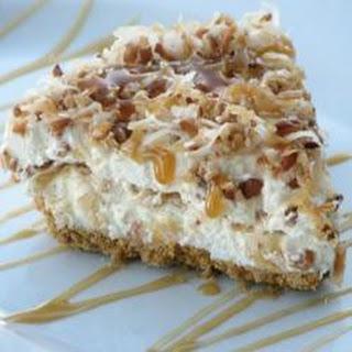 Coconut caramel Drizzle Pie
