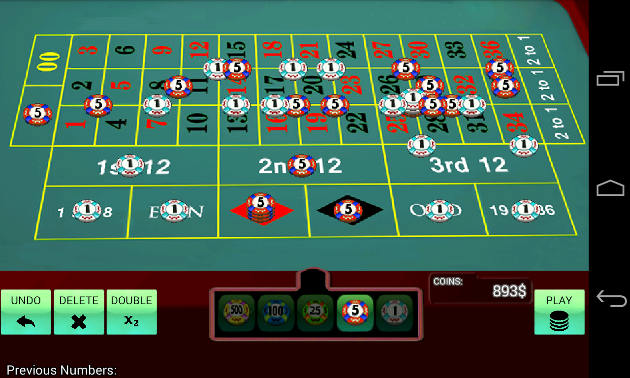 roulette game simulator