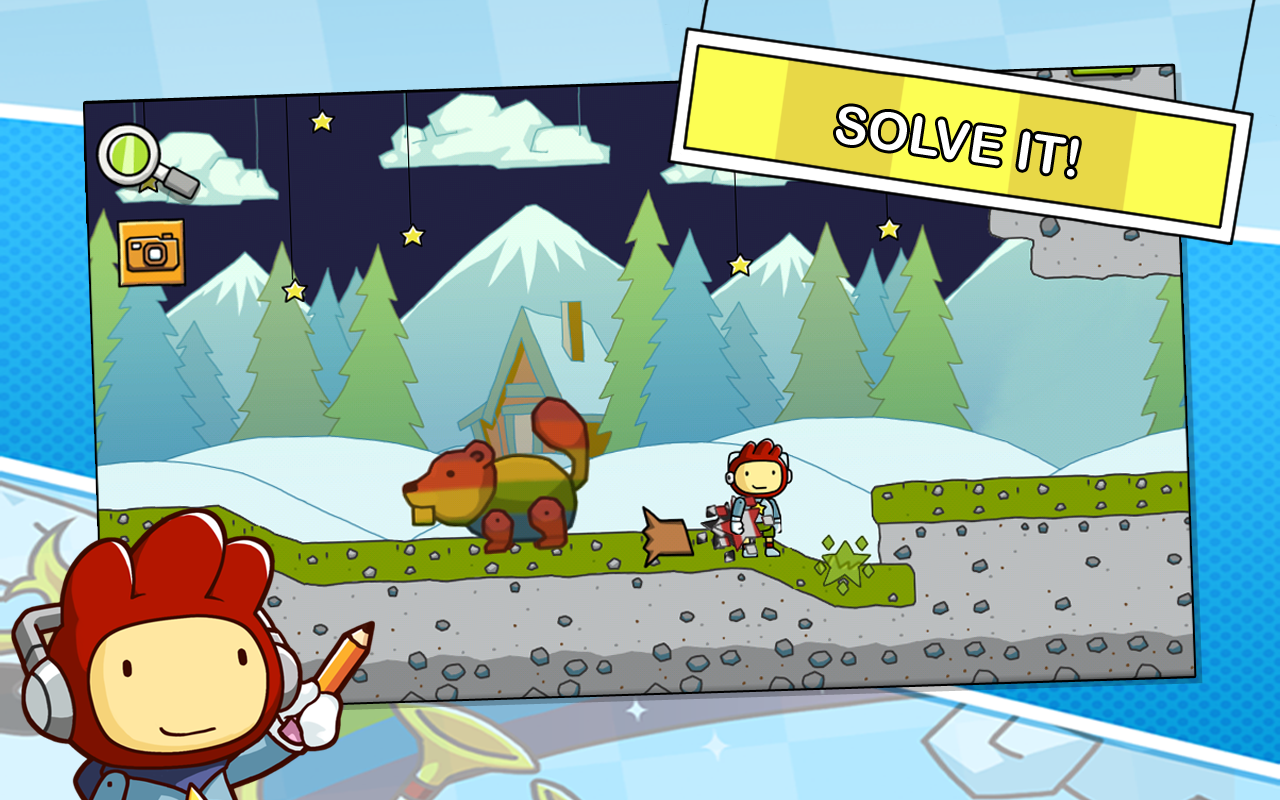 Scribblenauts Remix - screenshot