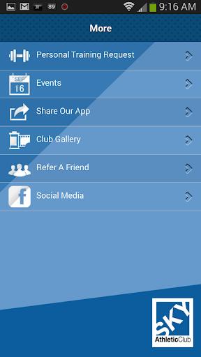 【免費健康App】Sky Athletic Club-APP點子
