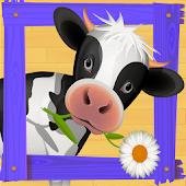 Farm Animals Puzzle Game