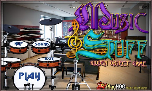 Music and Stuff Hidden Objects