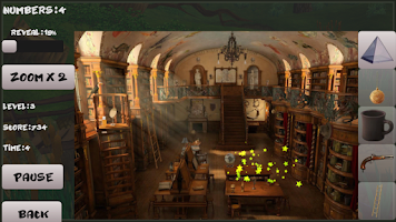 Screenshot of Adventures. Find objects