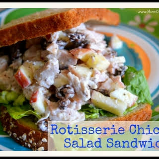 Rotisserie Chicken Salad Sandwich.