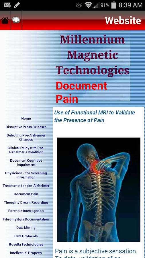 Documentation Imaging of Pain- screenshot