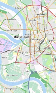 Düsseldorf Offline City Map- screenshot thumbnail