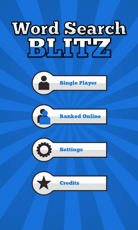Word Search Blitz Free - screenshot