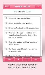 Wedding Planning Complete Plus- screenshot thumbnail