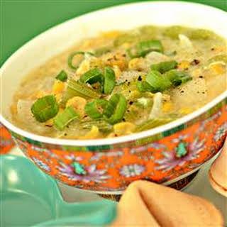 Chinese Corn Soup.