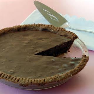Chocolate Mousse Cloud Pie.