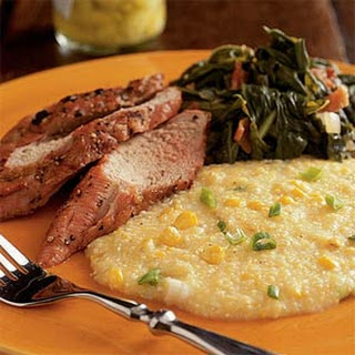 Creamy Grits with Sweet Corn.